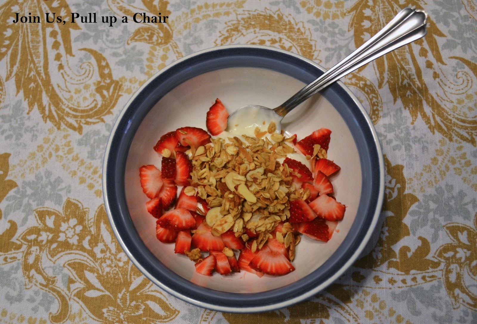 Coconut Almond Granola | Join Us, Pull up a Chair