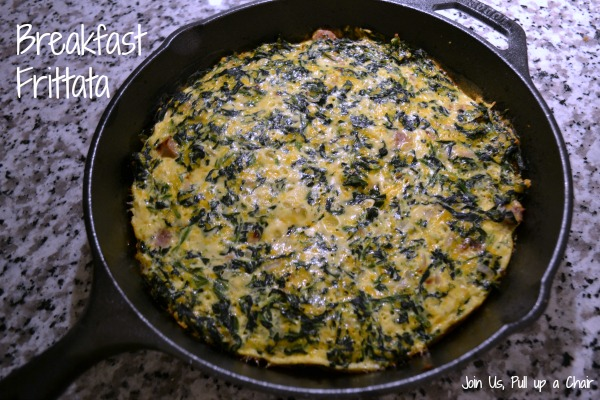 Breakfast Frittata - The MD Factor Diet | Join Us, Pull up a Chair