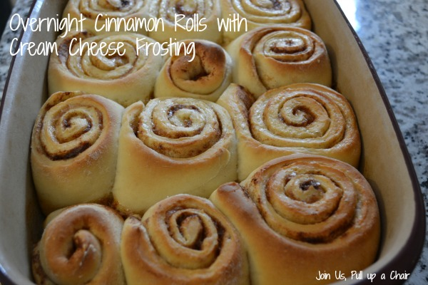 Overnight Cinnamon Rolls | Join Us, Pull up a Chair