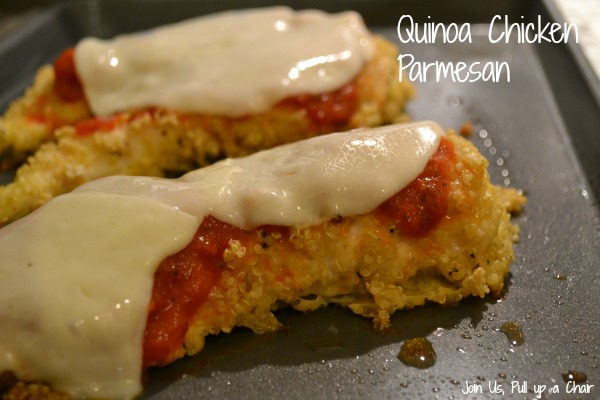 Quinoa Chicken Parm | Join Us, Pull up a Chair