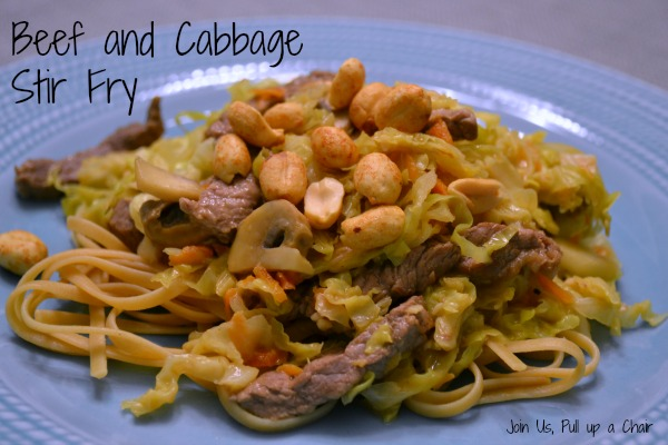 Beef Cabbage Stir Fry | Join Us, Pull up a Chair