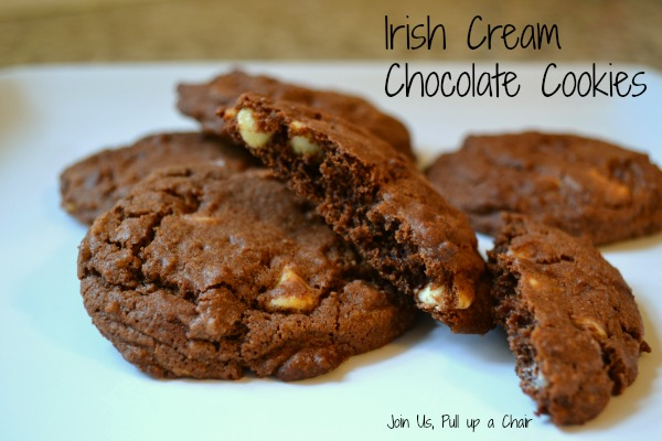Irish Cream Chocolate Cookies | Join Us, Pull up a Chair