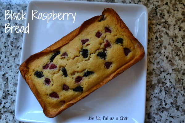 Black Raspberry Bread | Join Us, Pull up a Chair