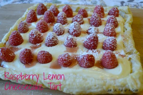 Raspberry Lemon Tart | Join Us, Pull up a Chair