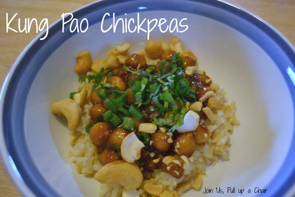 Kung Pao Chickpeas | Join Us, Pull up a Chair