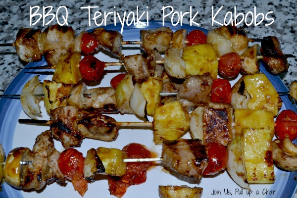 BBQ Teriyaki Pork Kabobs | Join Us, Pull up a Chair