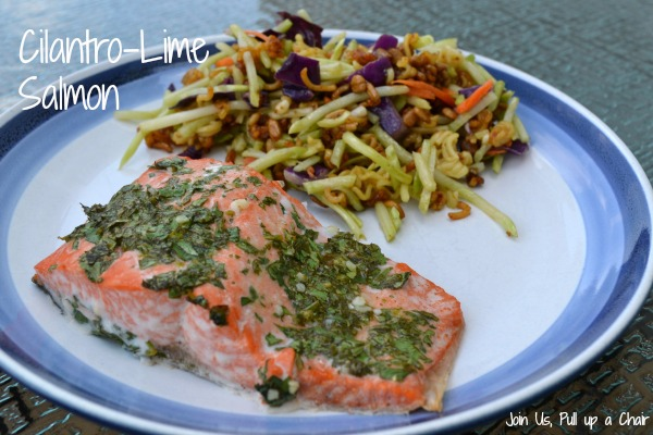 Cilantro Lime Salmon | Join Us, Pull up a Chair