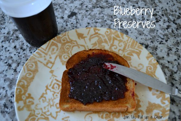 Blueberry Preserves | Join Us, Pull up a Chair