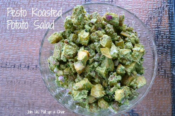 Pesto Roasted Potato Salad | Join Us, Pull up a Chair