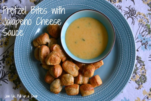 Pretzel Bites with Jalapeno Cheese Sauce - SRC | Join Us, Pull up a Chair
