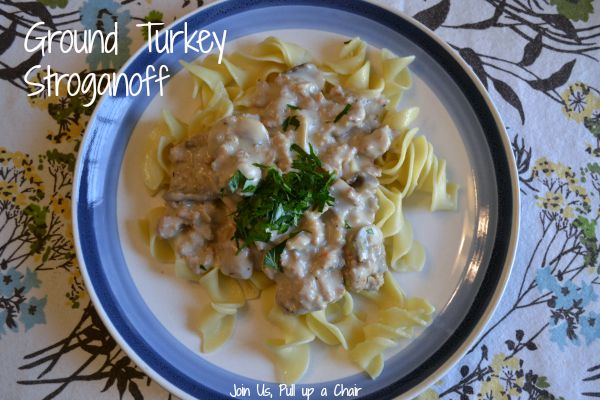 Ground Turkey Stroganoff | Join Us, Pull up a Chair