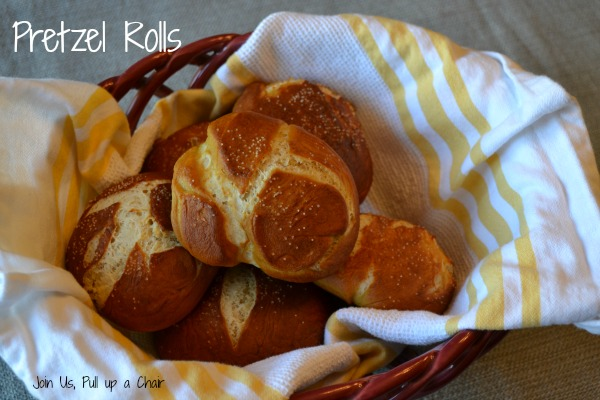 Pretzel Rolls | Join Us, Pull up a Chair
