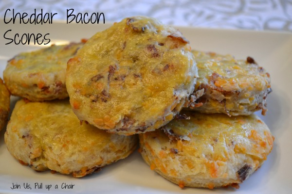 Cheddar  Bacon Scones | Join Us, Pull up a Chair