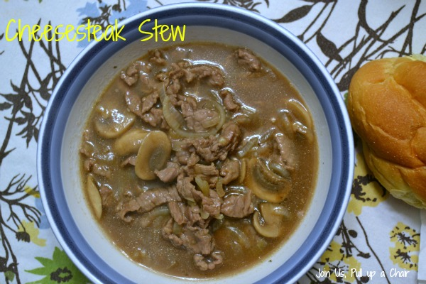 Cheesesteak Stew | Join Us, Pull up a Chair