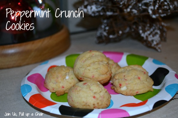 Peppermint Crunch Cookies | Join Us, Pull up a Chair