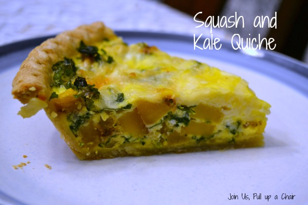 Squash and Kale Quiche | Join Us, Pull up a Chair