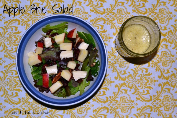 Apple Brie Salad | Join Us, Pull up a Chair