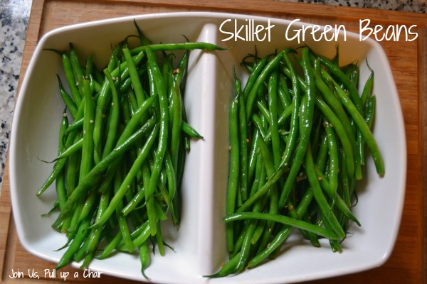 Skillet Green Beans | Join Us, Pull up a Chair
