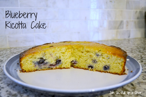Blueberry Ricotta Cake | Join Us, Pull up a Chair