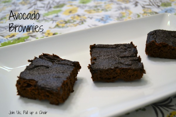 Avocado Brownies | Join Us, Pull up a Chair