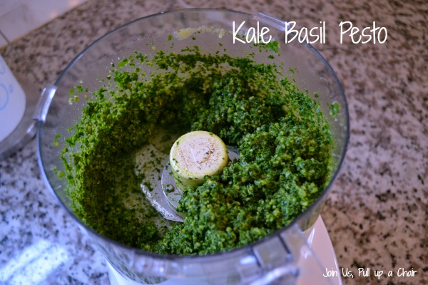 Kale Basil Pesto | Join Us, Pull up a Chair