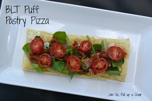 BLT Puff Pastry Pizza | Join Us, Pull up a Chair