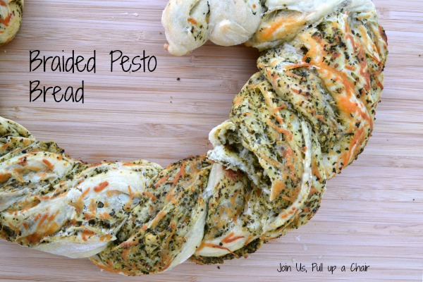 Braided Pesto Bread | Join Us, Pull up a Chair