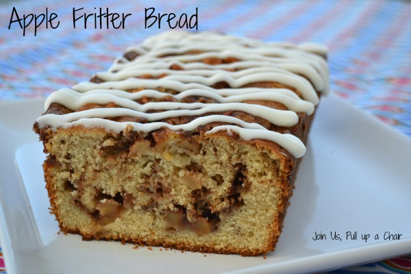 Apple Fritter Bread   Join Us, Pull up a Chair