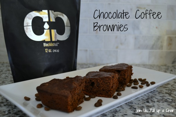 Chocolate Coffee Brownies #Choctoberfest | Join Us, Pull up a Chair