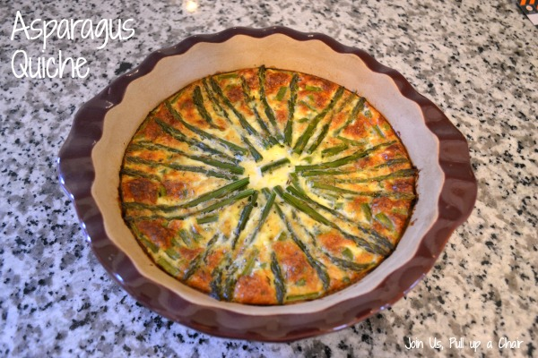 Asparagus Quiche | Join Us, Pull up a Chair