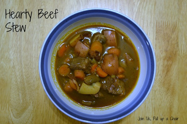 Heart Beef Stew | Join Us, Pull up a Chair