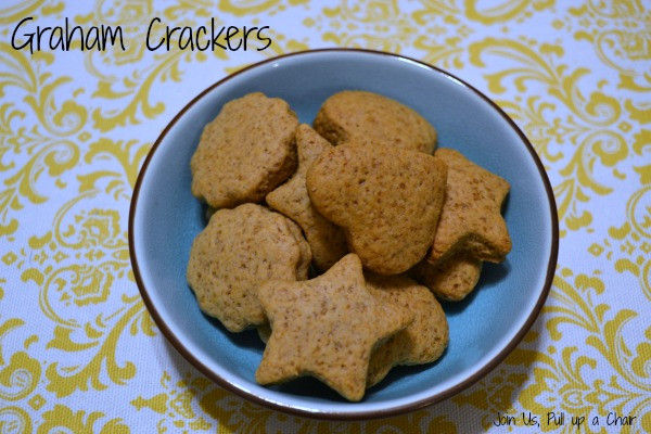 Graham Crackers #FilltheCookieJar | Join Us, Pull up a Chair