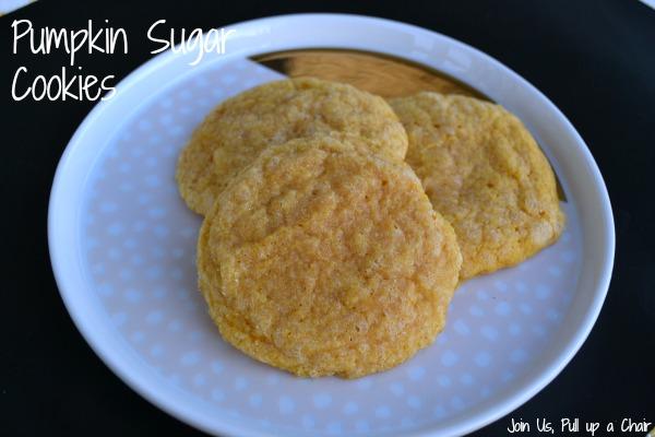 Pumpkin Sugar Cookies | Join Us, Pull up a Chair #FilltheCookieJar