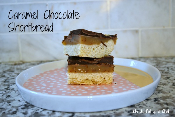 Caramel Chocolate Shortbread | Join Us, Pull up a Chair
