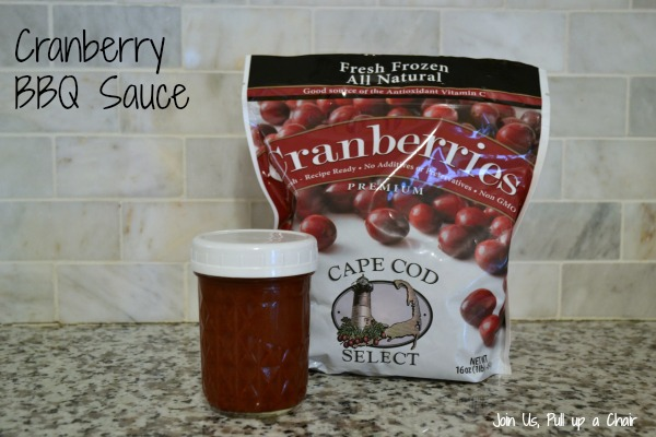 Cranberry BBQ Sauce | Join Us, Pull up a Chair