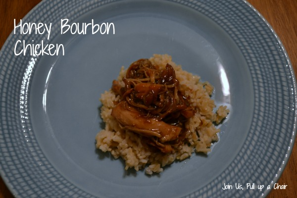 Honey Bourbon Chicken | Join Us, Pull up a Chair
