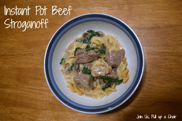 Instant Pot Beef Stroganoff | Join Us, Pull up a Chair