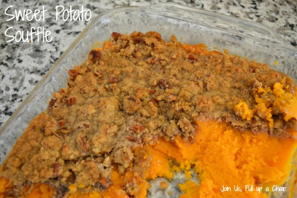 Sweet Potato Souffle | Join Us, Pull up a Chair