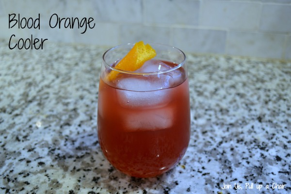 Blood Orange Cooler | Join Us, Pull up a Chair