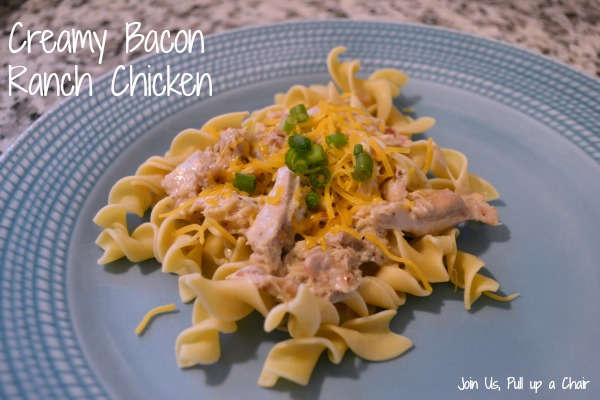 Creamy Bacon Ranch Chicken | Join Us, Pull up a Chair