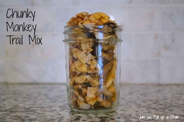 Chunky Monkey Trail Mix | Join Us, Pull up a Chair