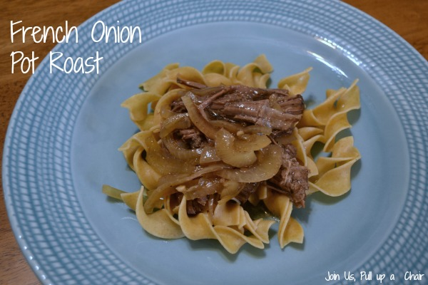 French Onion Pot Roast | Join Us, Pull up a Chair