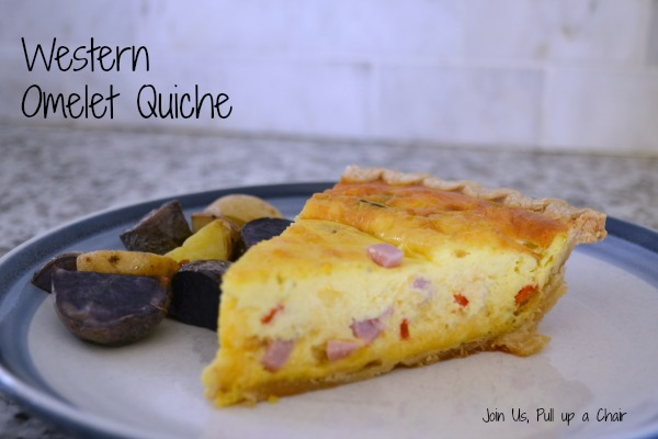 Western Qmelete Quiche | Join Us, Pull up a Chair