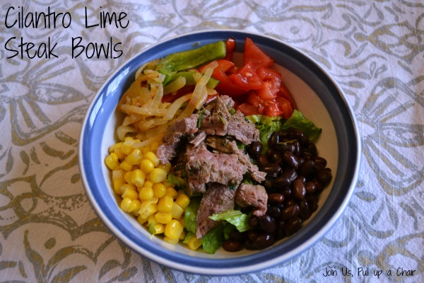 Cilantro Lime Steak Bowl | Join Us, Pull up a Chair