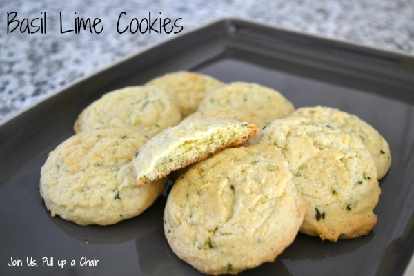 Basil Lime Cookies #FilltheCookieJar | Join Us, Pull up a Chair