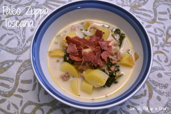 Paleo Zuppa Toscana | Join Us, Pull up a Chair
