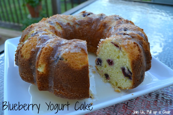 Blueberry Yogurt Cake | Join Us, Pull up a Chair