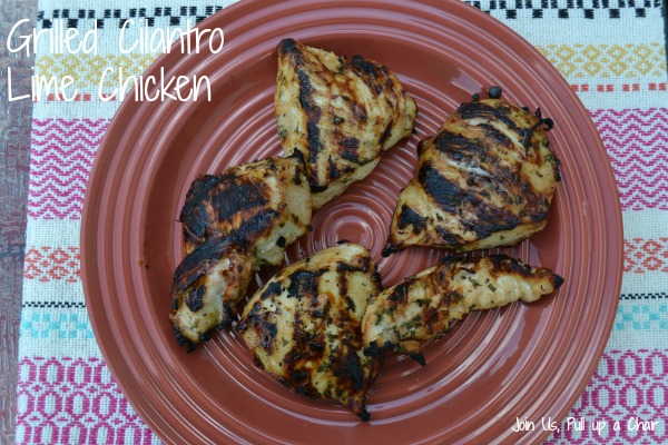 Grilled Cilantro Lime Chicken | Join Us, Pull up a Chair
