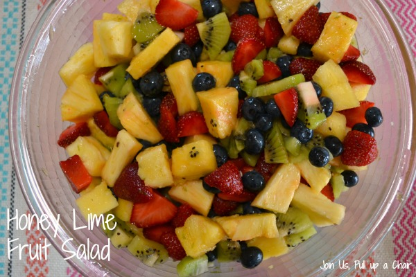 Honey Lime Fruit Salad   Join Us, Pull up a Chair