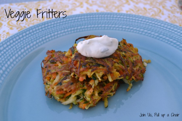 Veggie Fritters   Join Us, Pull up a Chair